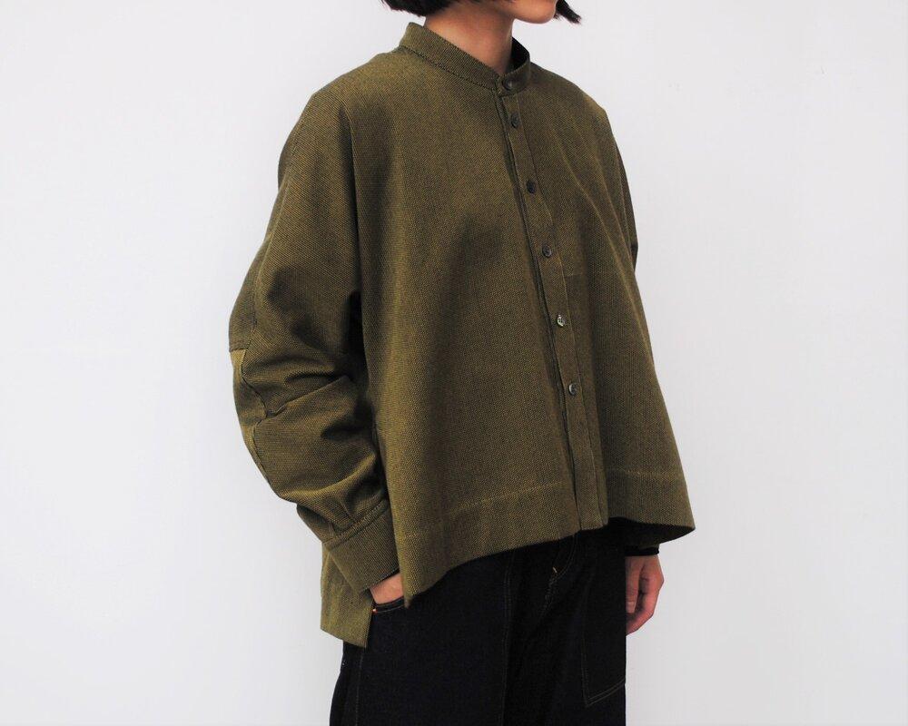 日本奶奶家 刺子織多爾曼上衣 四色 size