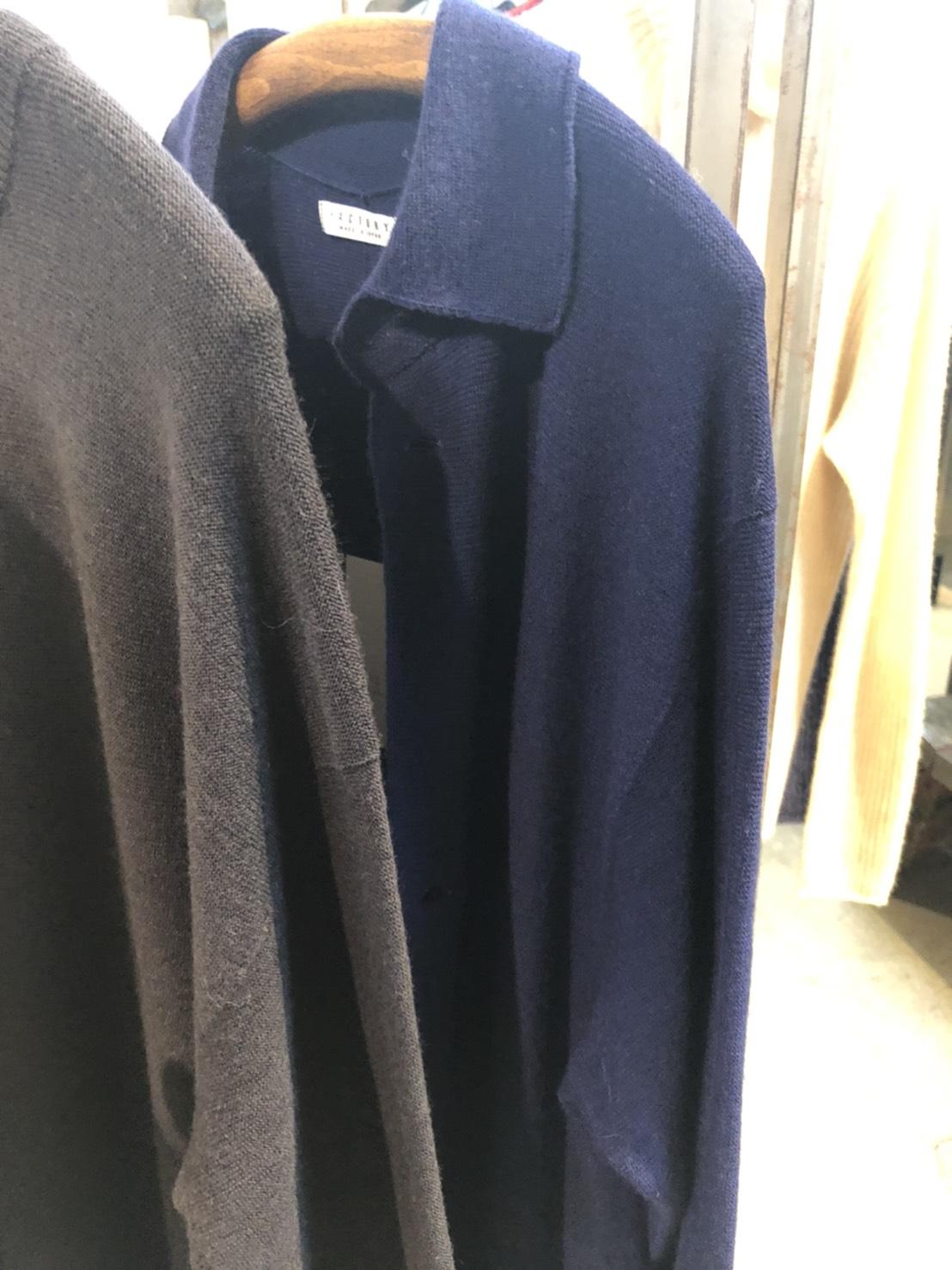 日本奶奶家 羊毛長版開衫外套 四色 size