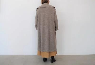 日本奶奶家 氣質翻領蒙古高原氂牛外套 三色 (size)